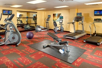 Downtown Nashville Tennessee Hotel Gym