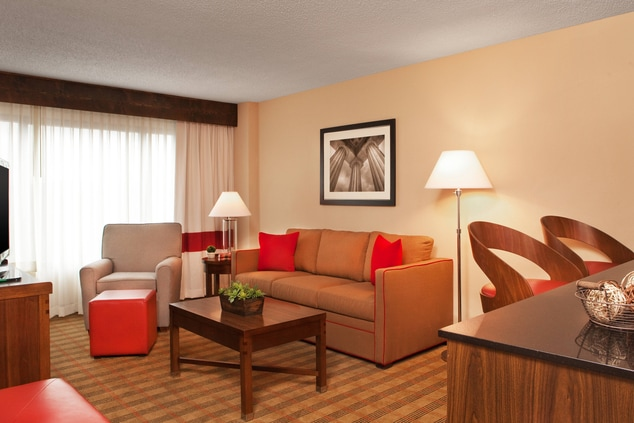 Executive Suite - Living Area