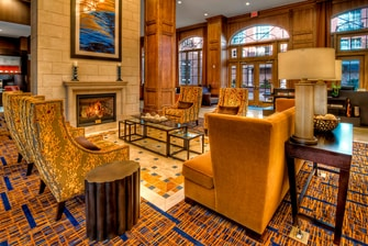 Green Hills Tennessee Hotel Lobby