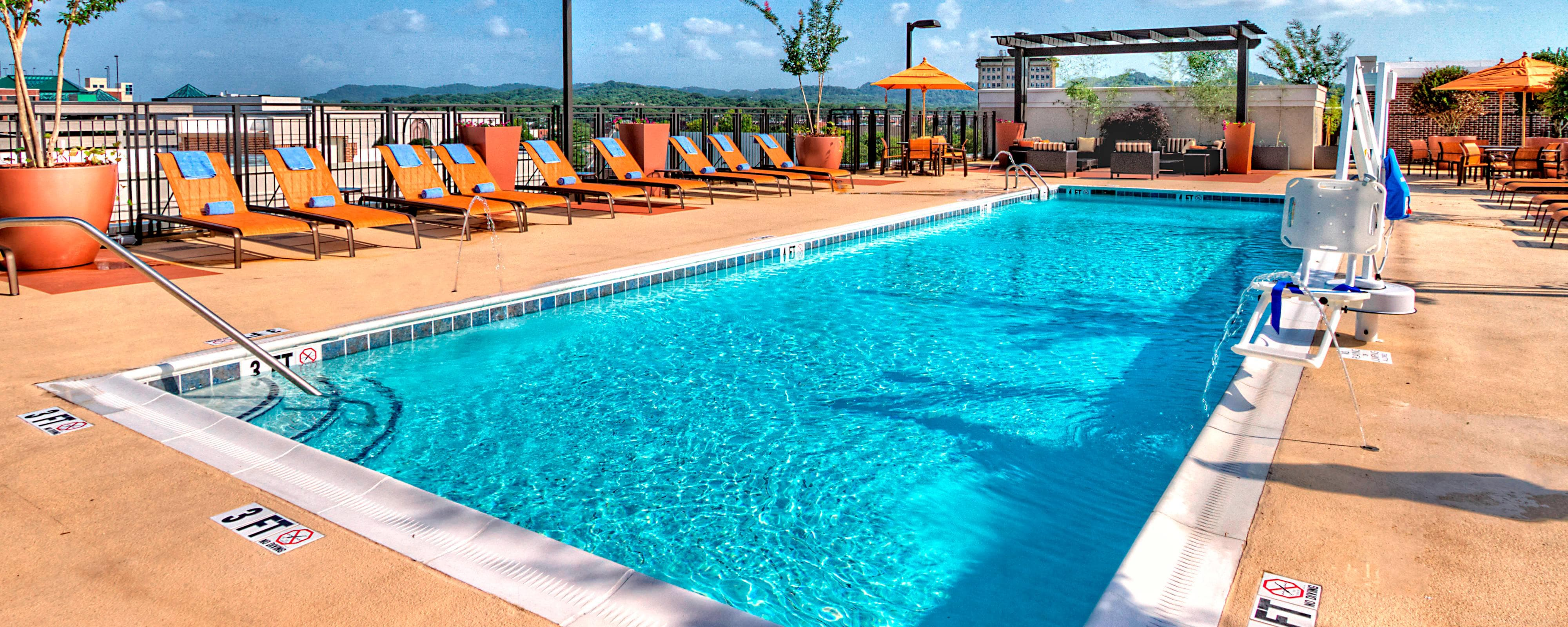 Green Hills Nashville Hotel Pool