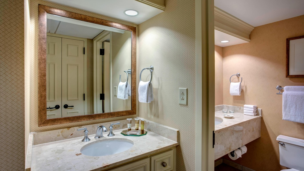 Nashville Gaylord Opryland Guest Bathroom