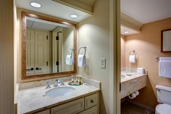 Nashville Gaylord Opryland Suite Bathroom