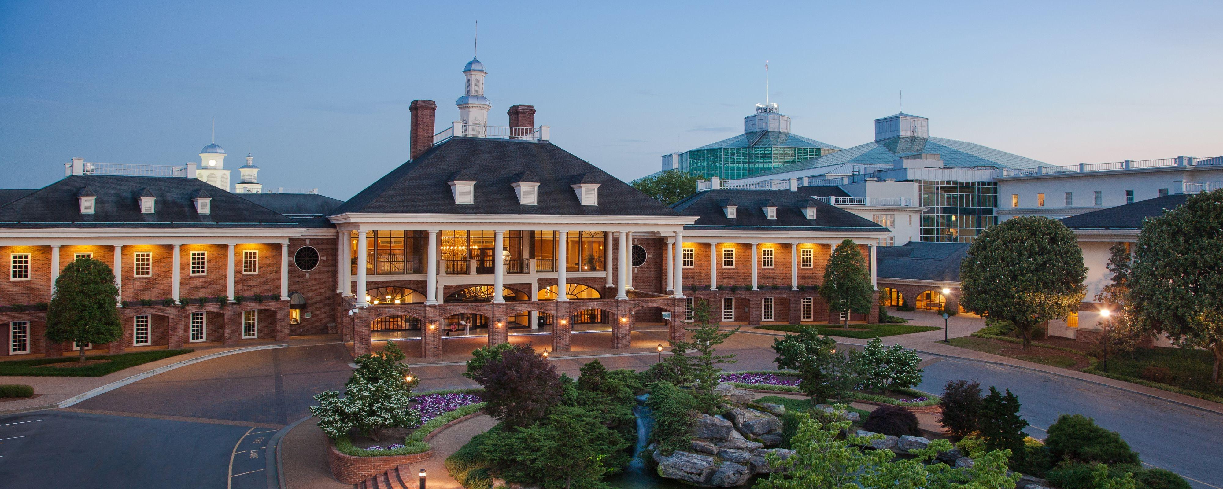 Opryland Hotel in Nashville Tennessee