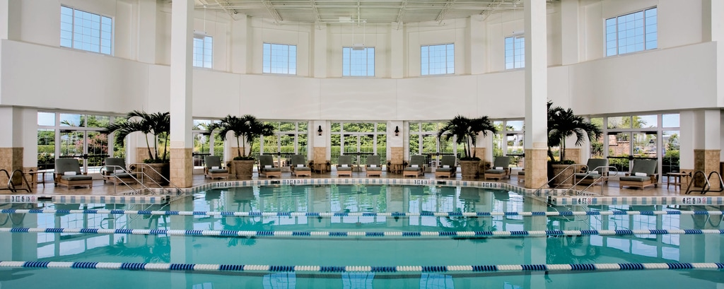 Piscina interna no Gaylord Opryland