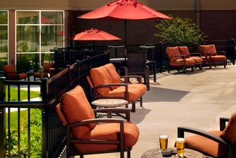 Courtyard Nashville Goodlettsville Patio