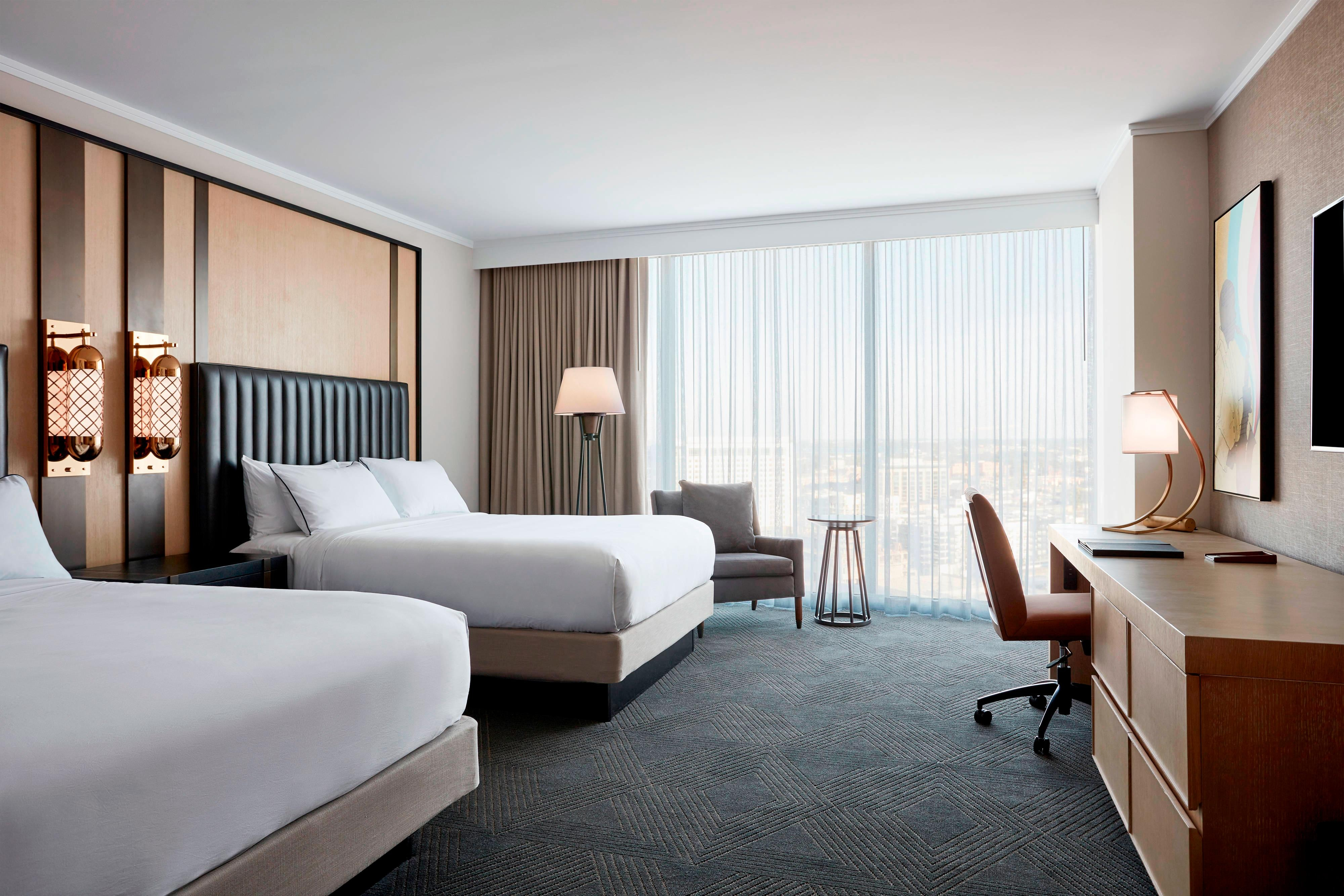 Travel Inspired Guest Room: New Luxury Hotel In Downtown Nashville