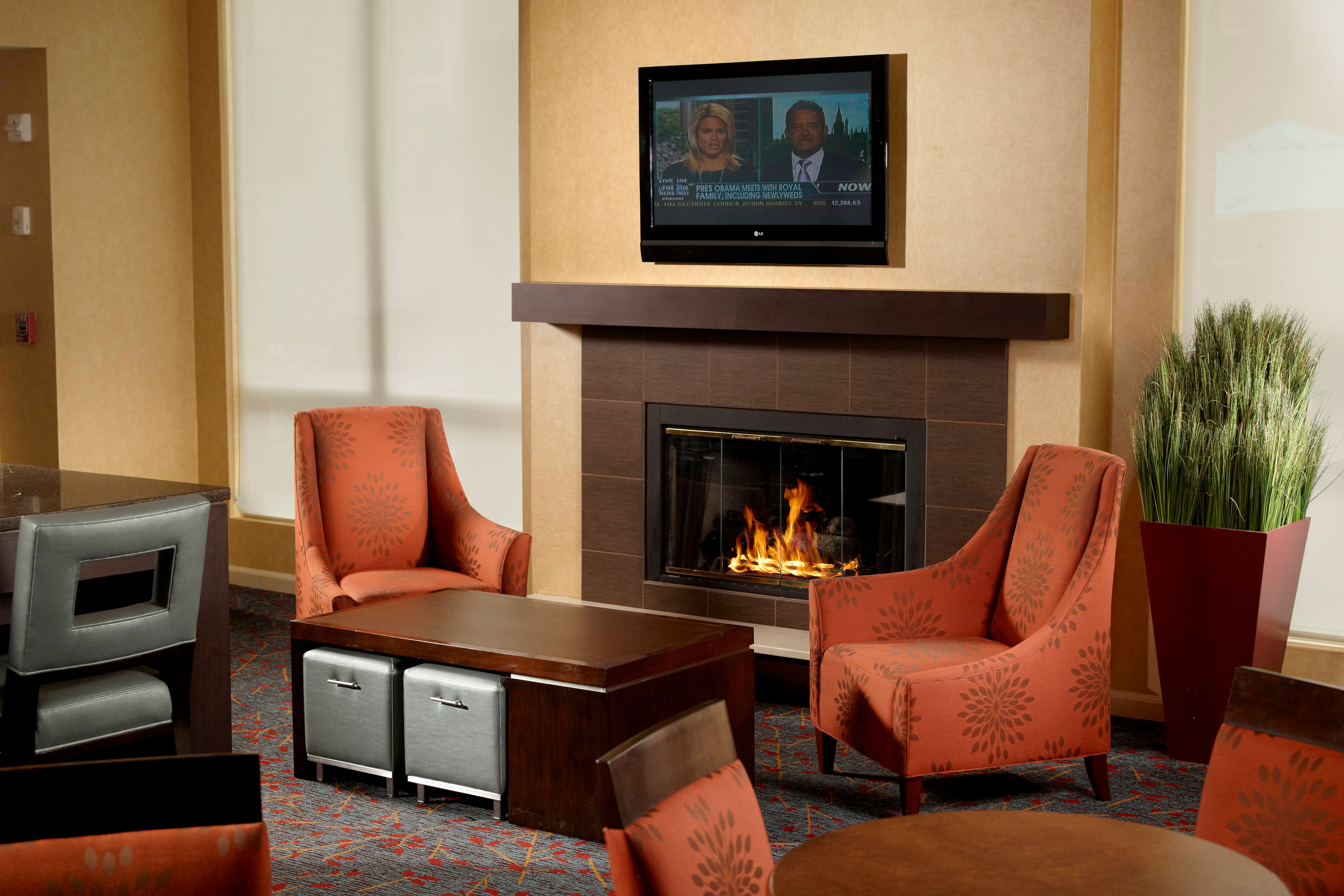 Residence Inn Nashville Brentwood Hearth Room