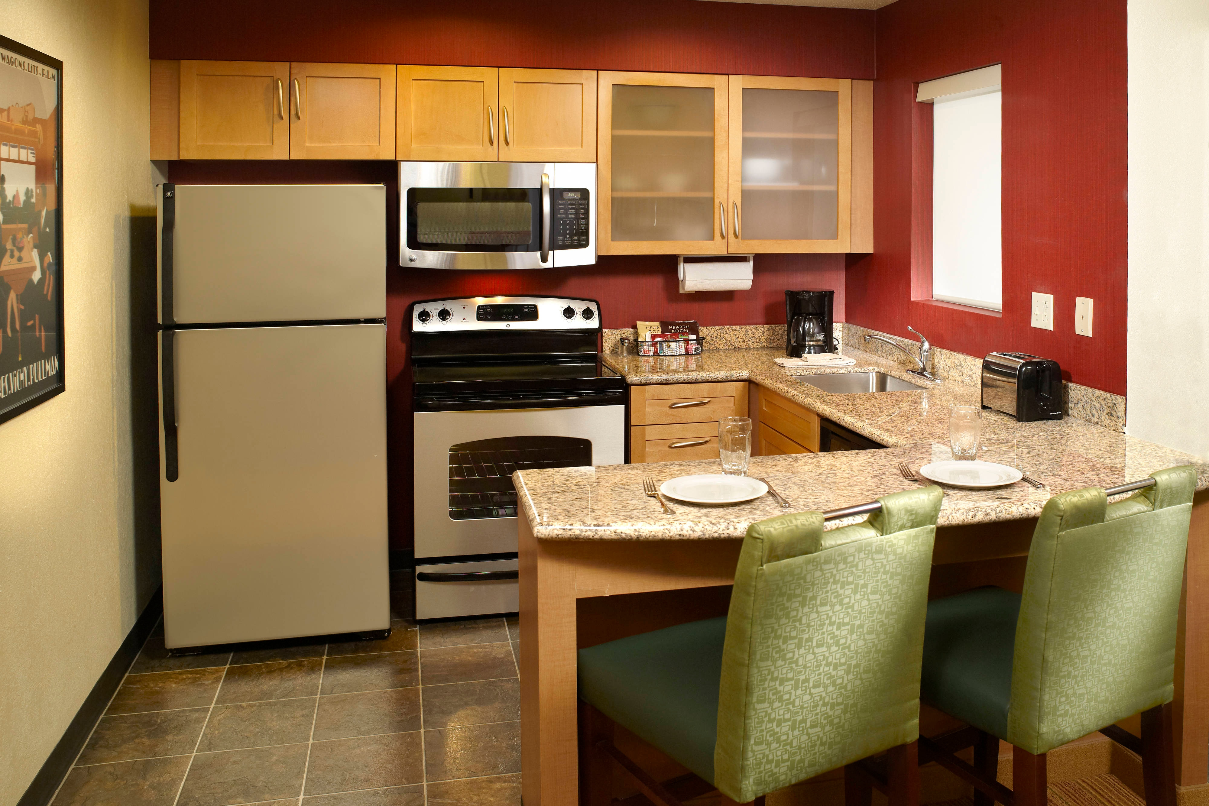 Residence Inn Two Bedroom Kitchen