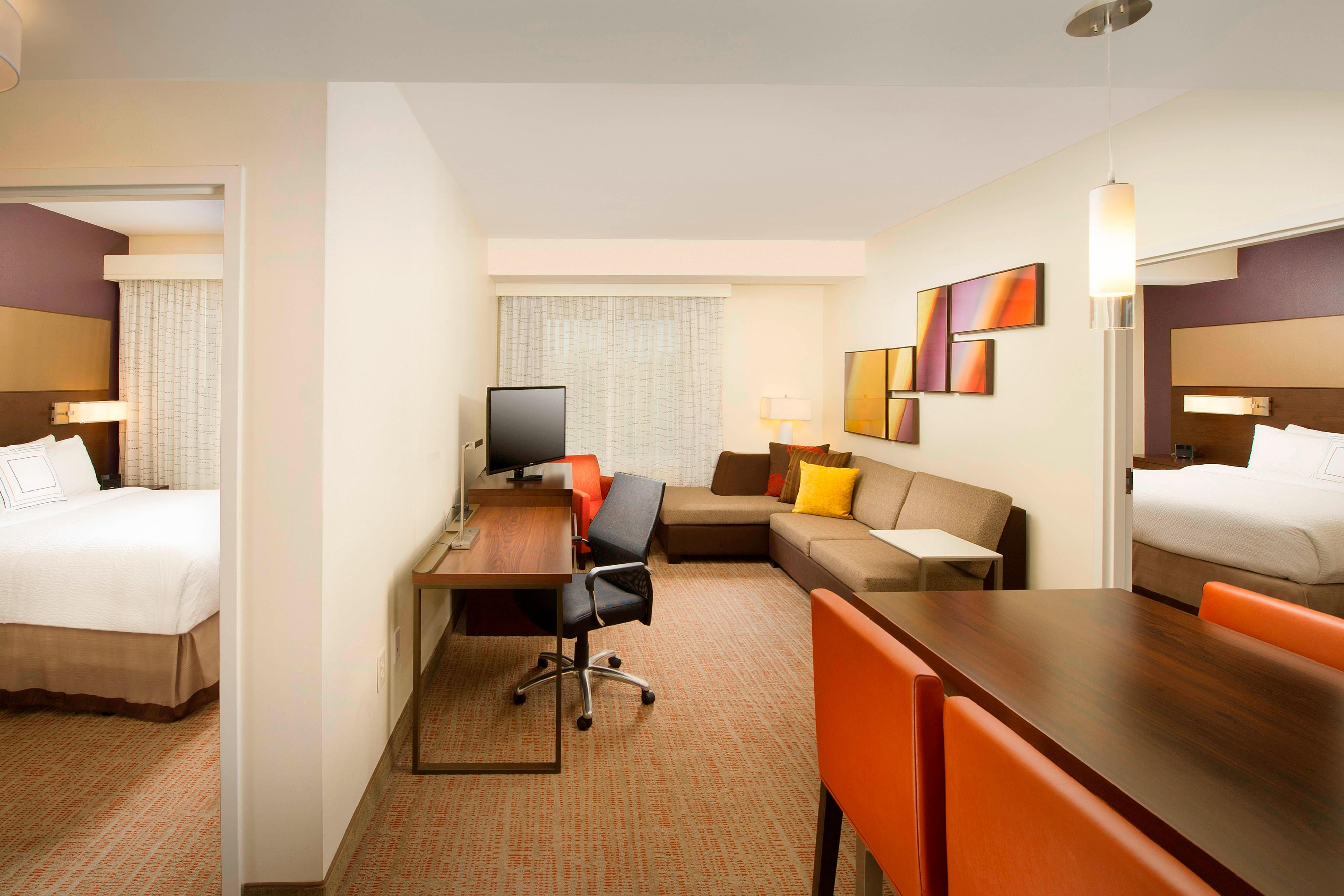Murfreesboro Residence Inn Two-Bedroom Suite