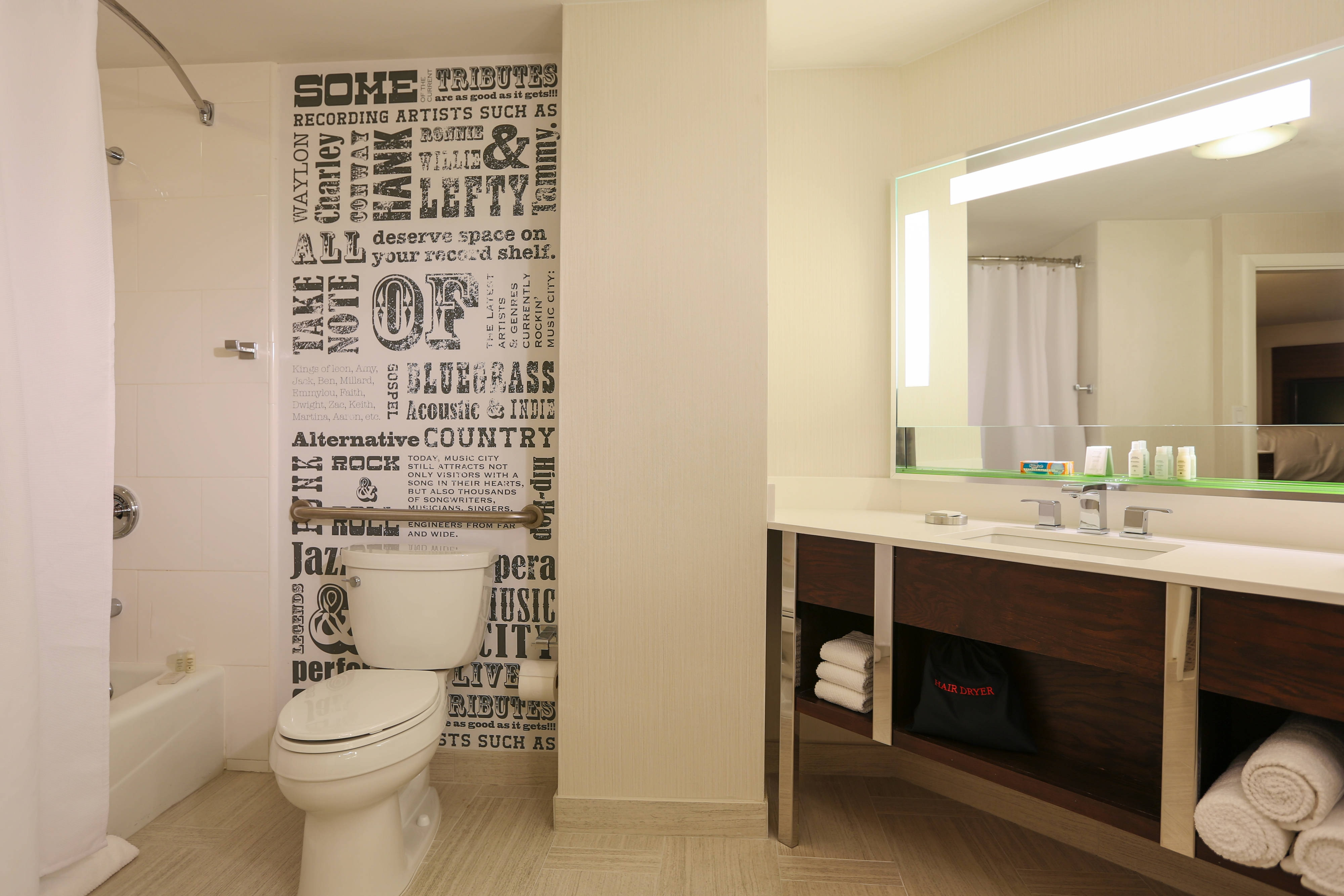 King Corner Guest Bathroom
