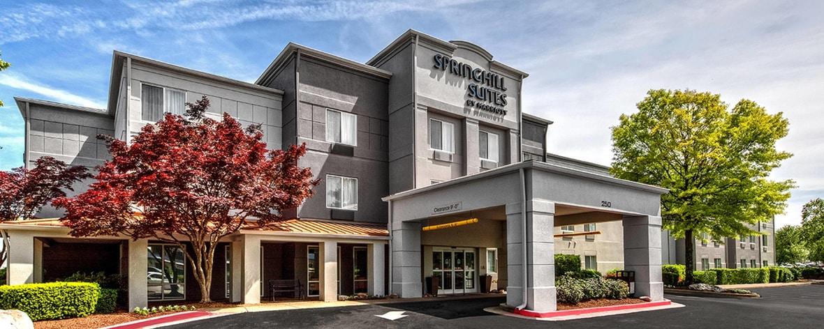 Nashville Hotels   Springhill Suites Nashville MetroCenter