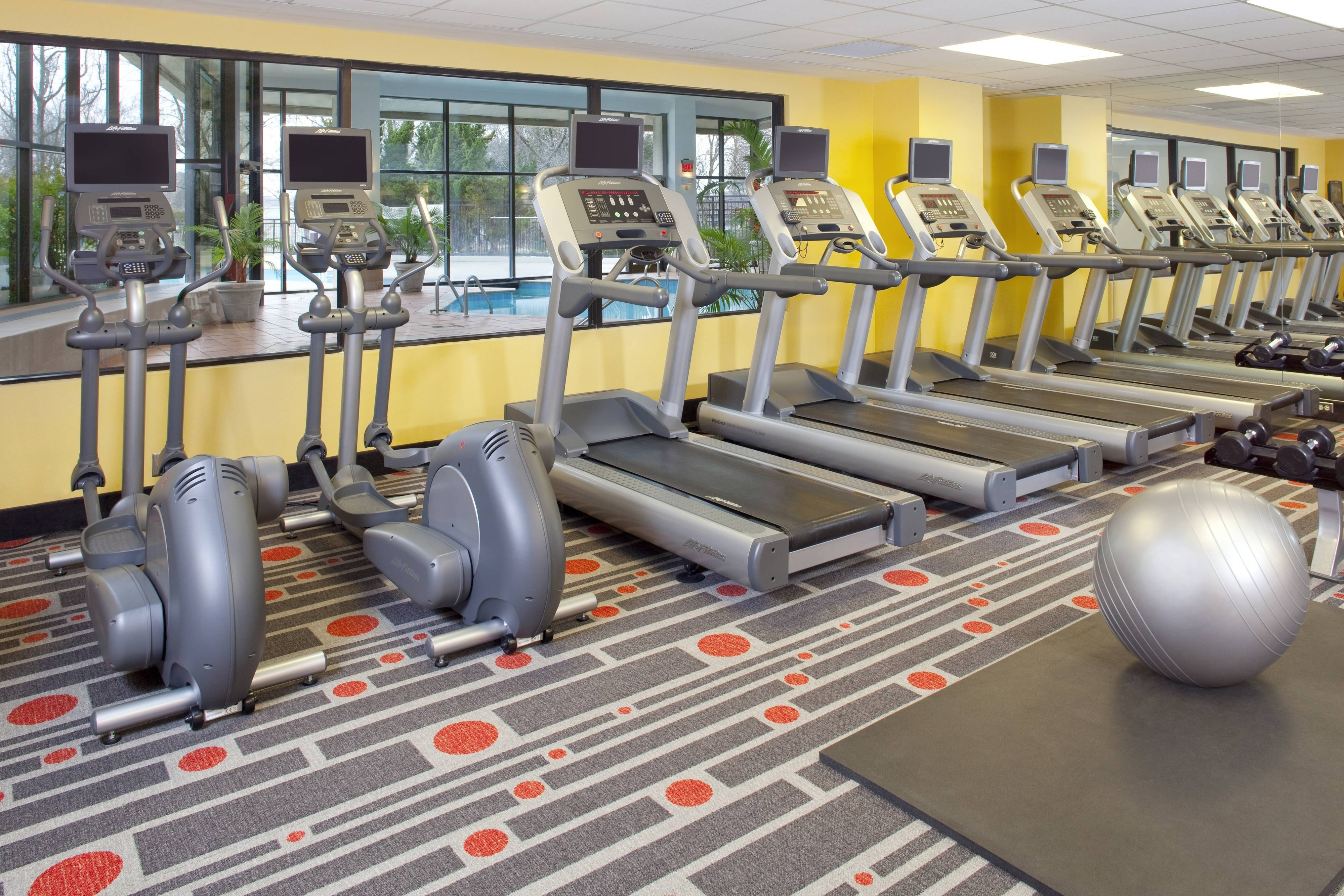 Nashville Airport Hotel Fitness Center