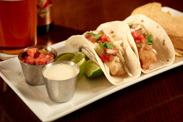 Champions Entrée – Fish Tacos
