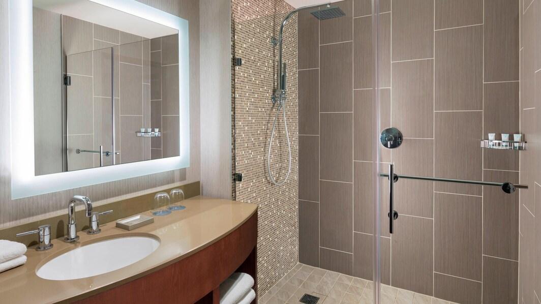 Salle de bains de chambre