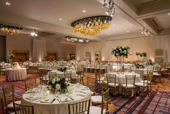 Stuard Stark Vanderbilt Ballroom Wedding Reception