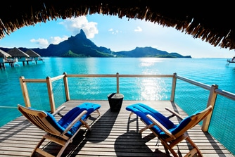 Premium Over water Bungalow - Terrace