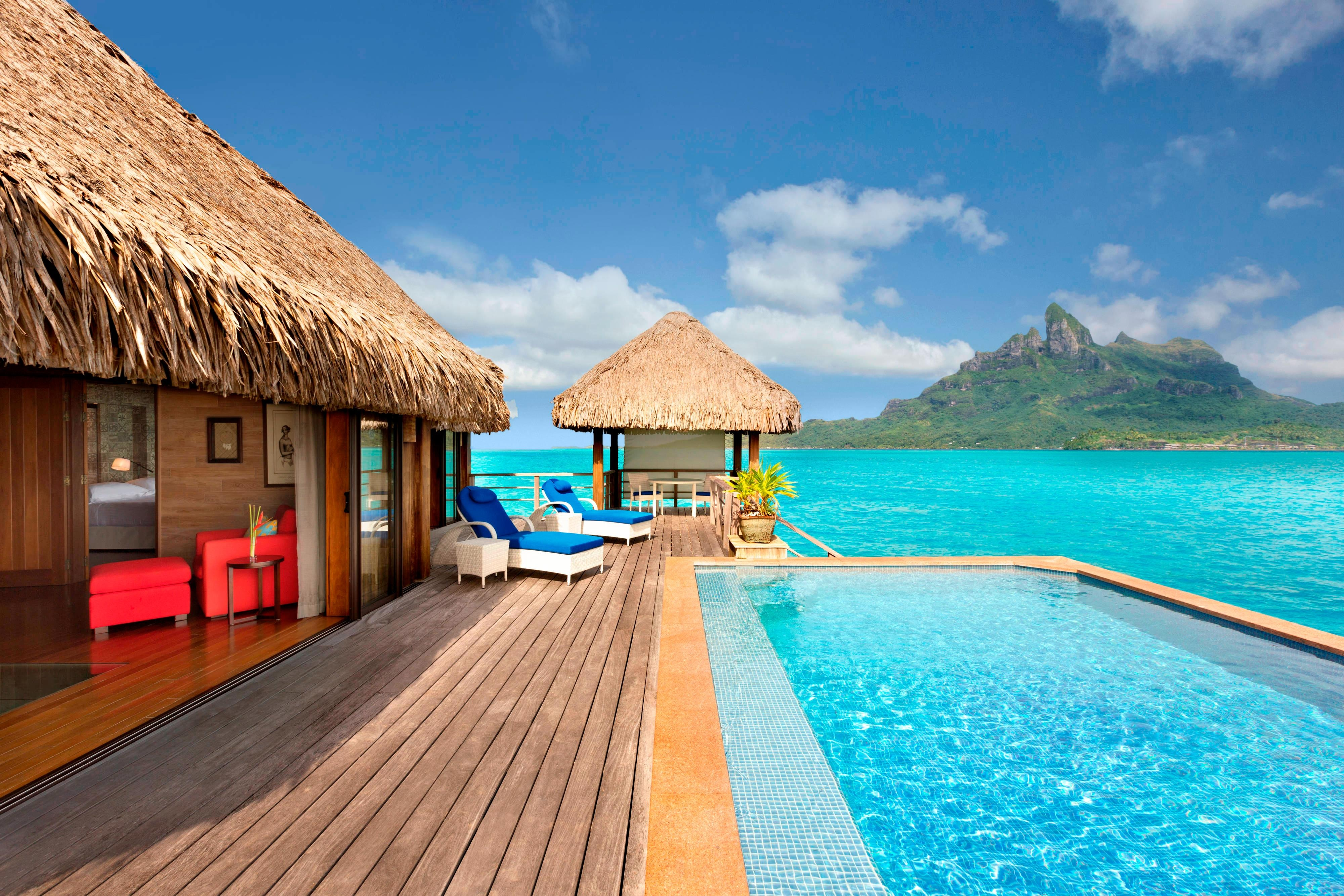 Overwater Royal Otemanu Villa with Pool