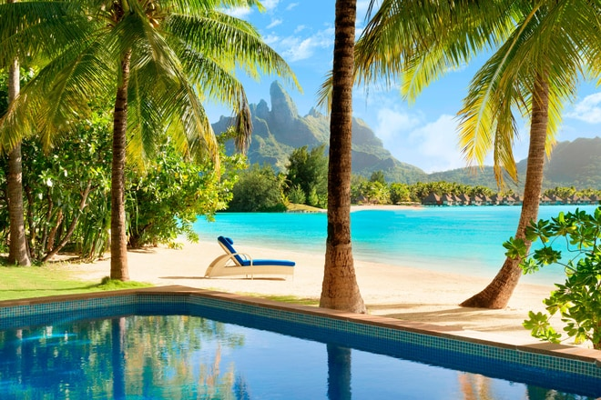 Beachside Villa with Pool