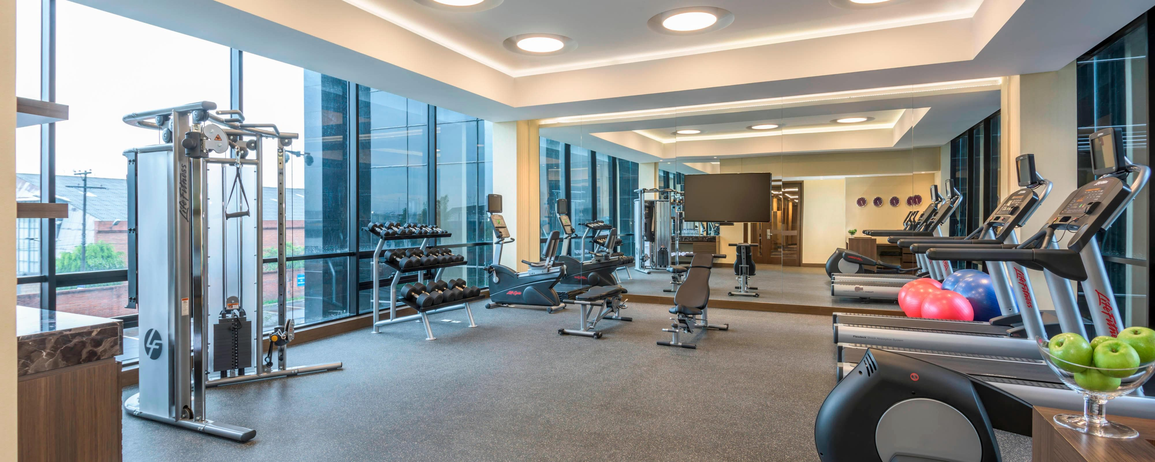 Airport Hotel Fitness Center