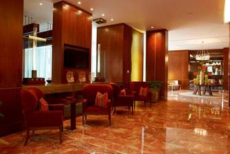 JW Marriott Bogota Hotel passage