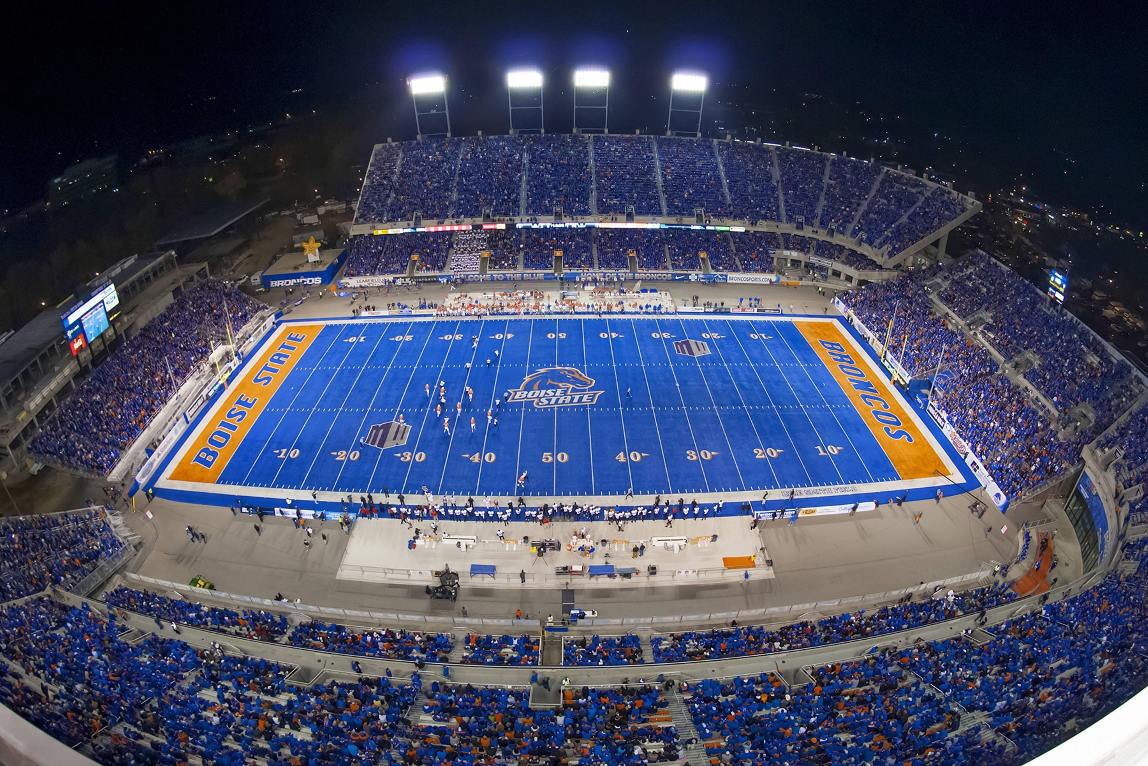 Boise State University Bronco Stadium