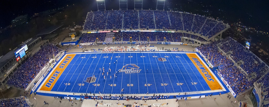 Bronco Stadium de la Boise State University