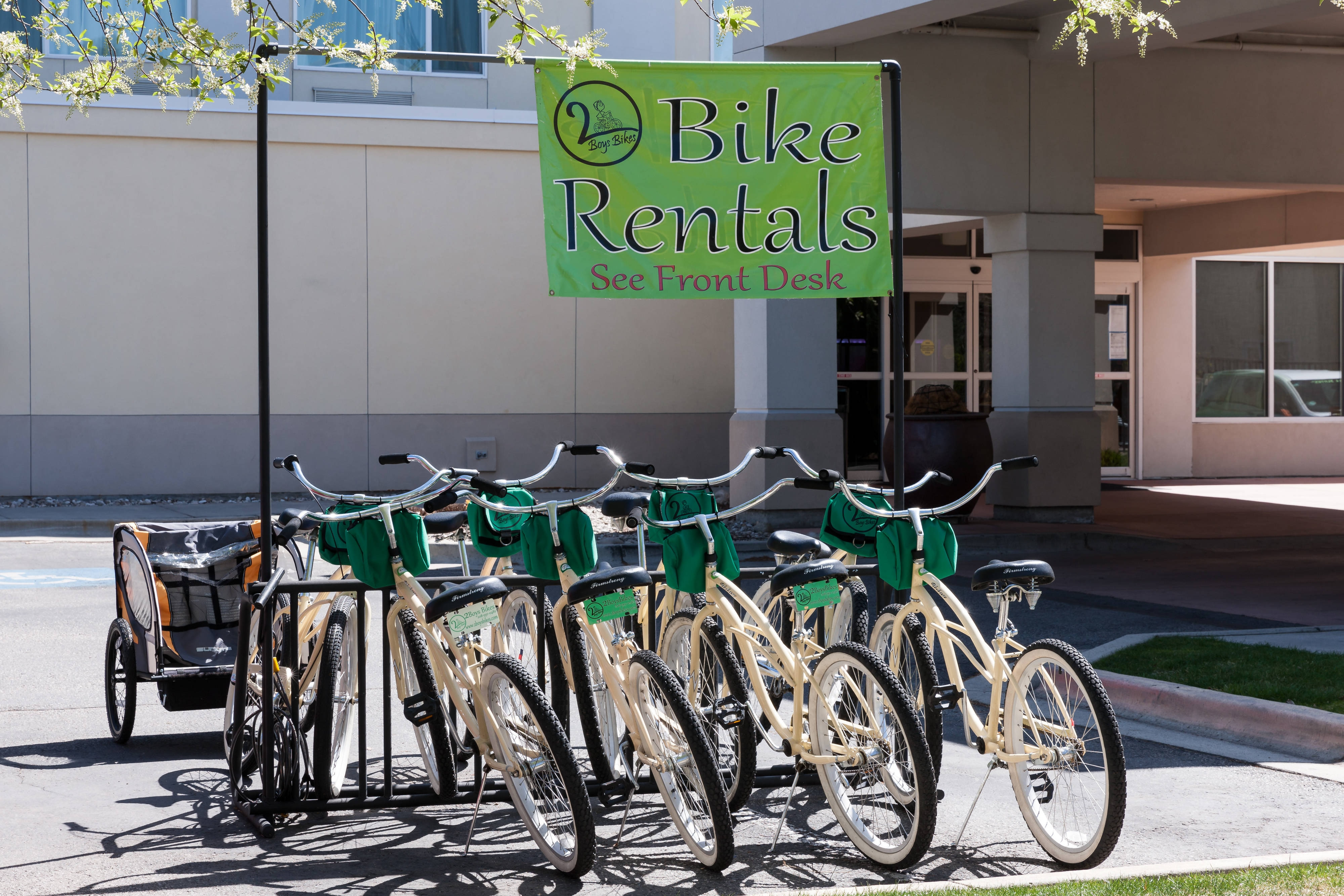 Bike Rentals at SHS Boise ParkCenter