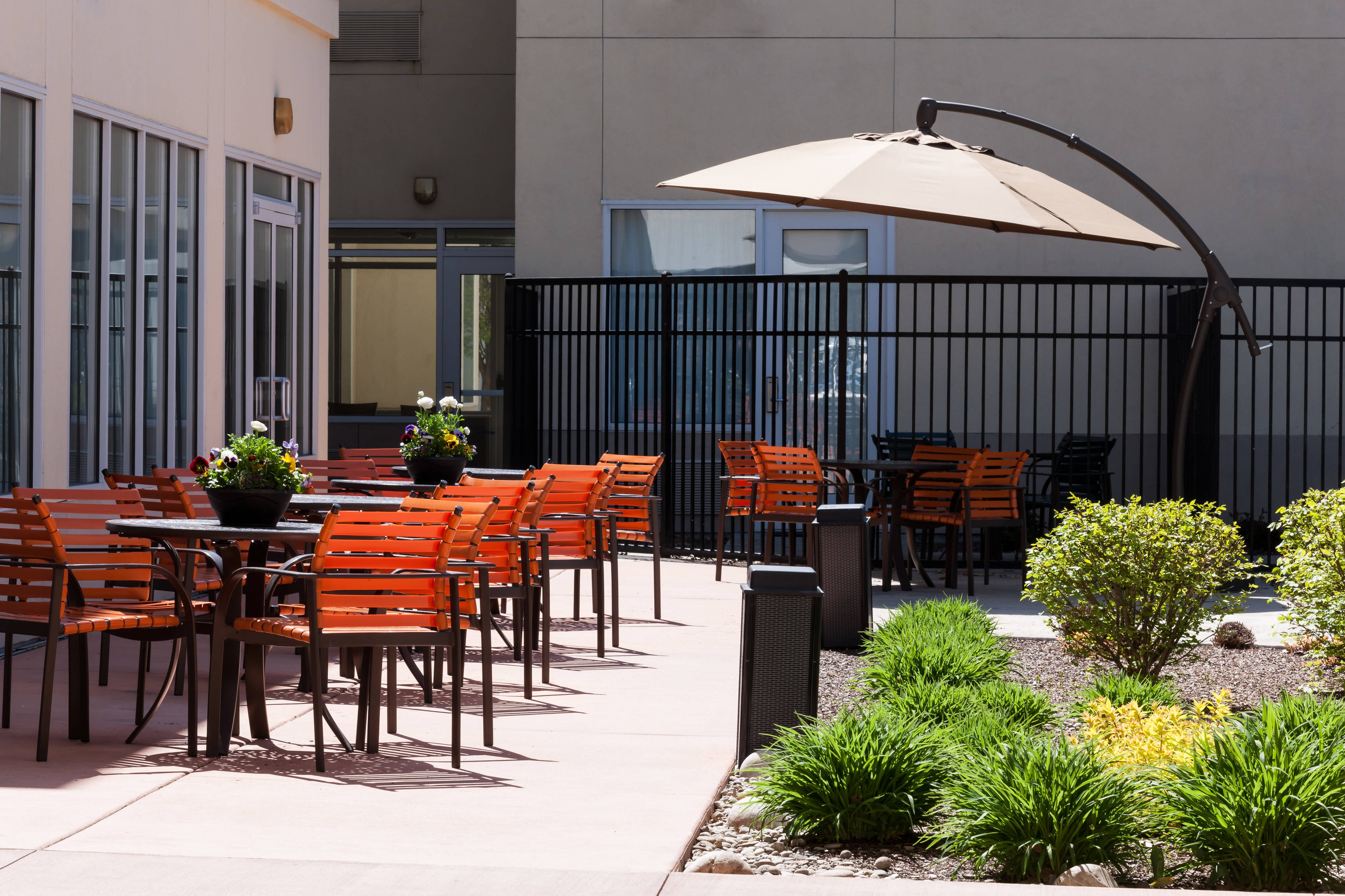 Outdoor patio area-Boise ParkCenter SHS