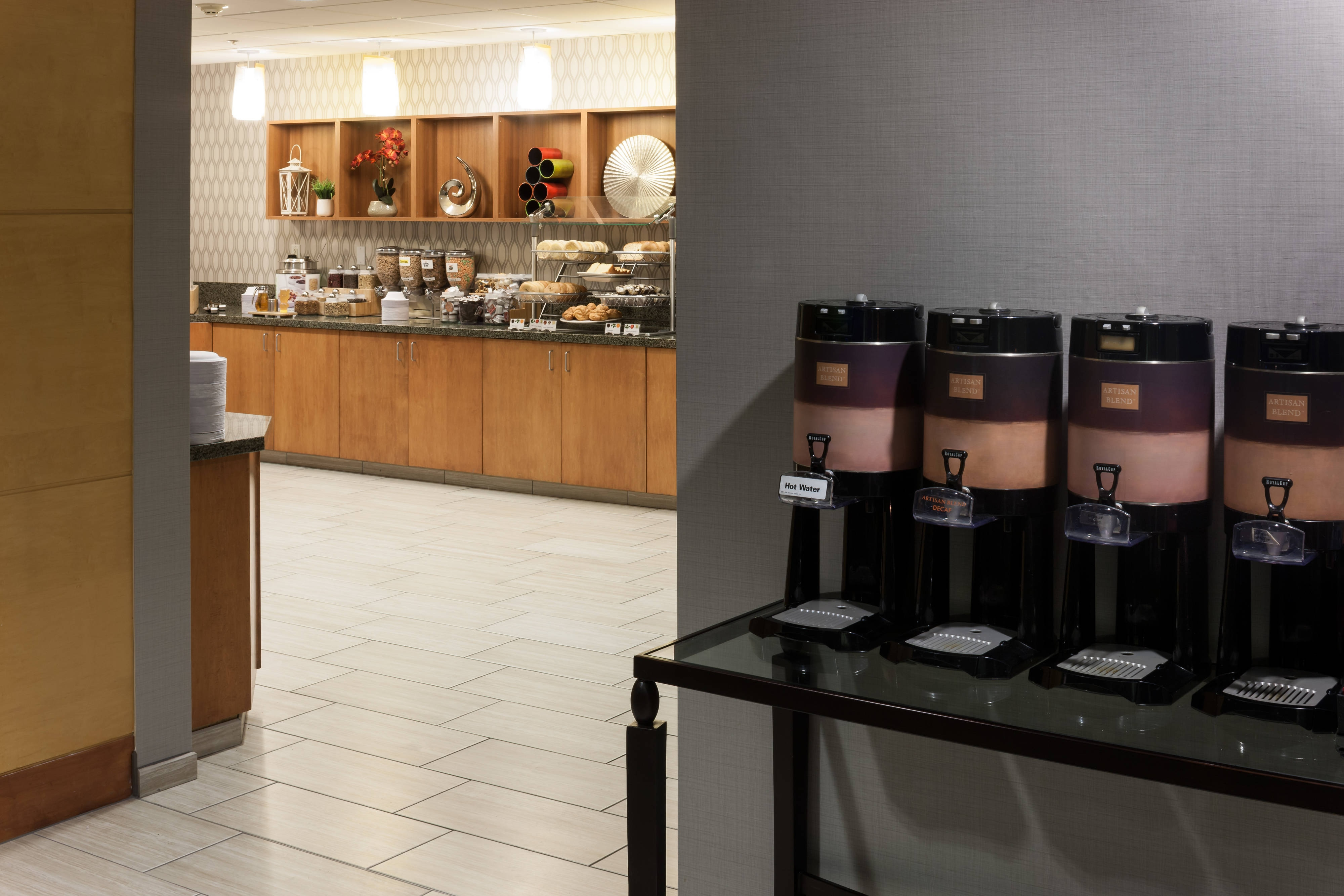Hotel Breakfast at SpringHill Suites Boise ParkCenter