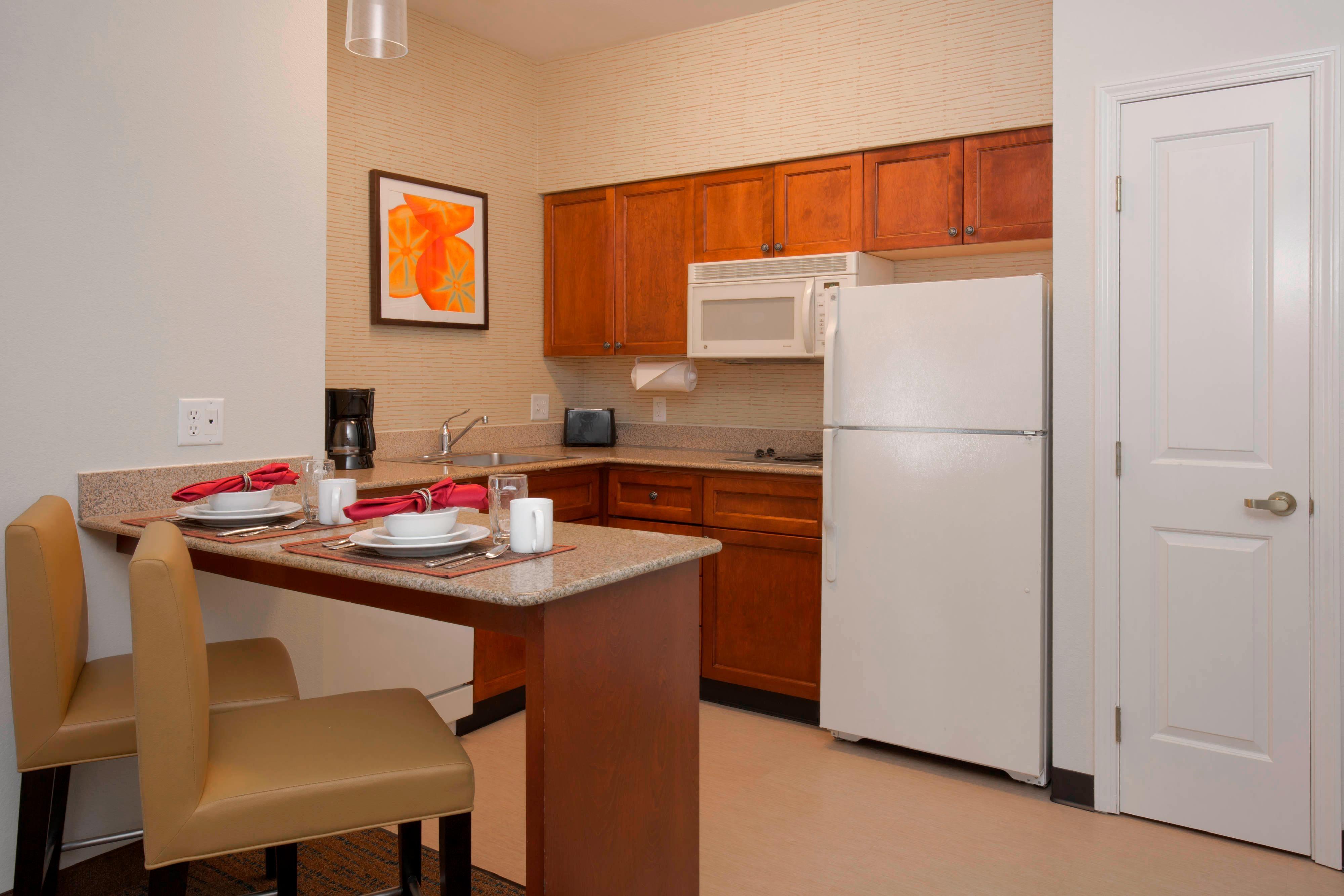 Boise Idaho Hotel Studio Kitchen