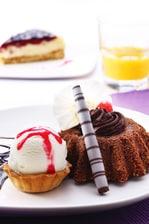 Soft center Cake