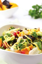 Mango and prunes salad