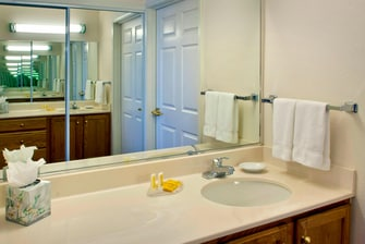 Guest Bathroom Vanity - Boston Andover Suites