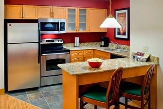Boston Hotels - Executive Suite Kitchen