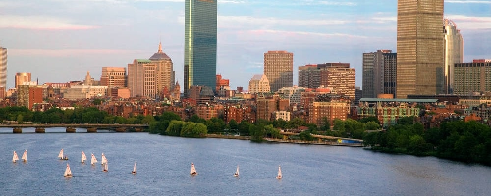 Vista a Boston