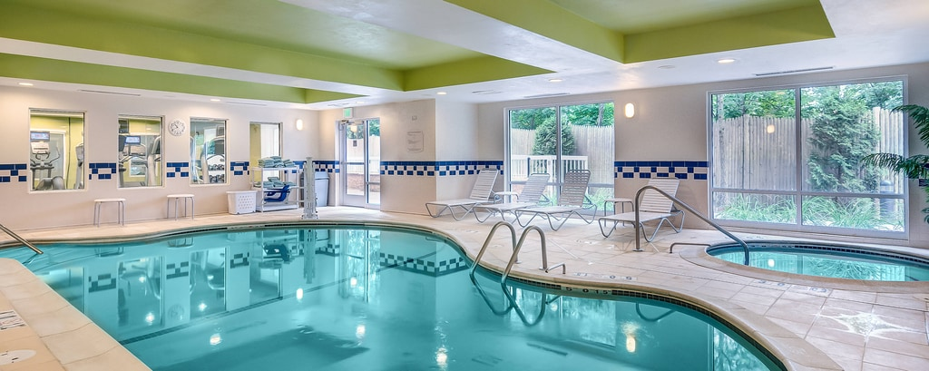 Indoor Pool Hot Tub
