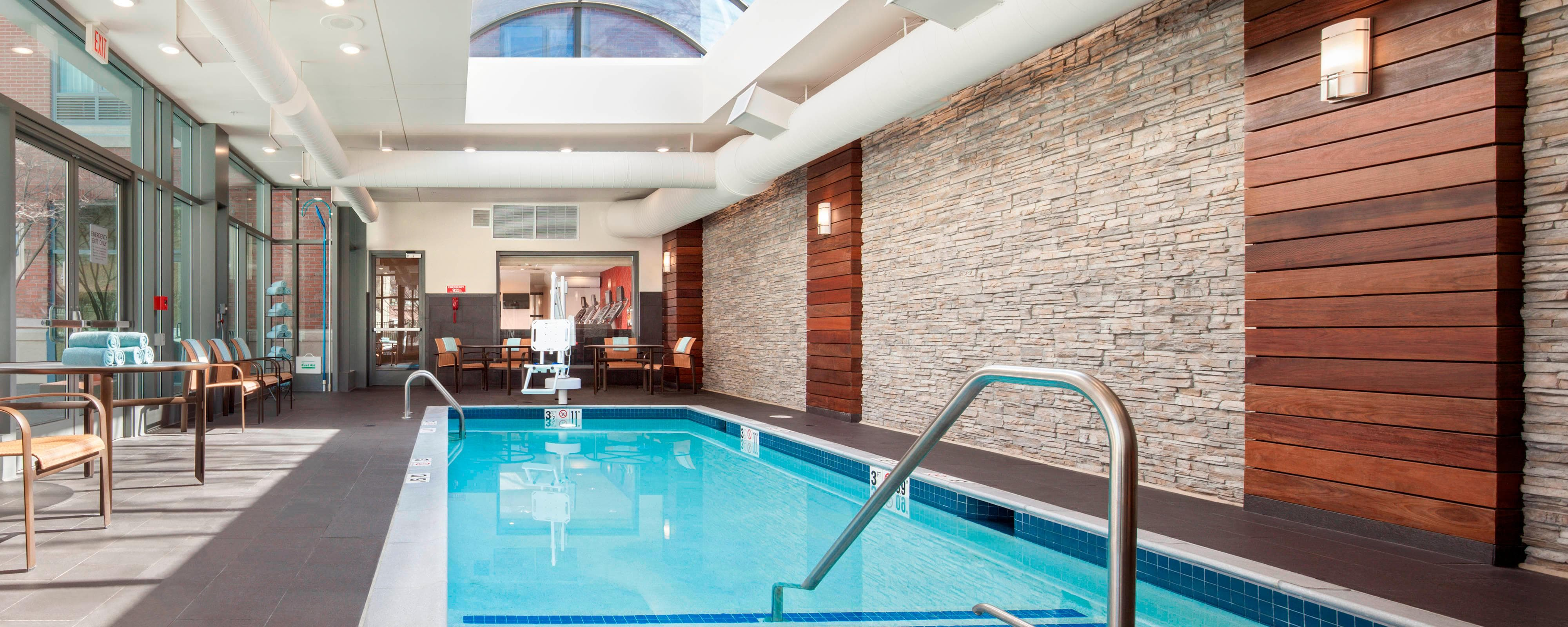 Brookline hotel with indoor pool