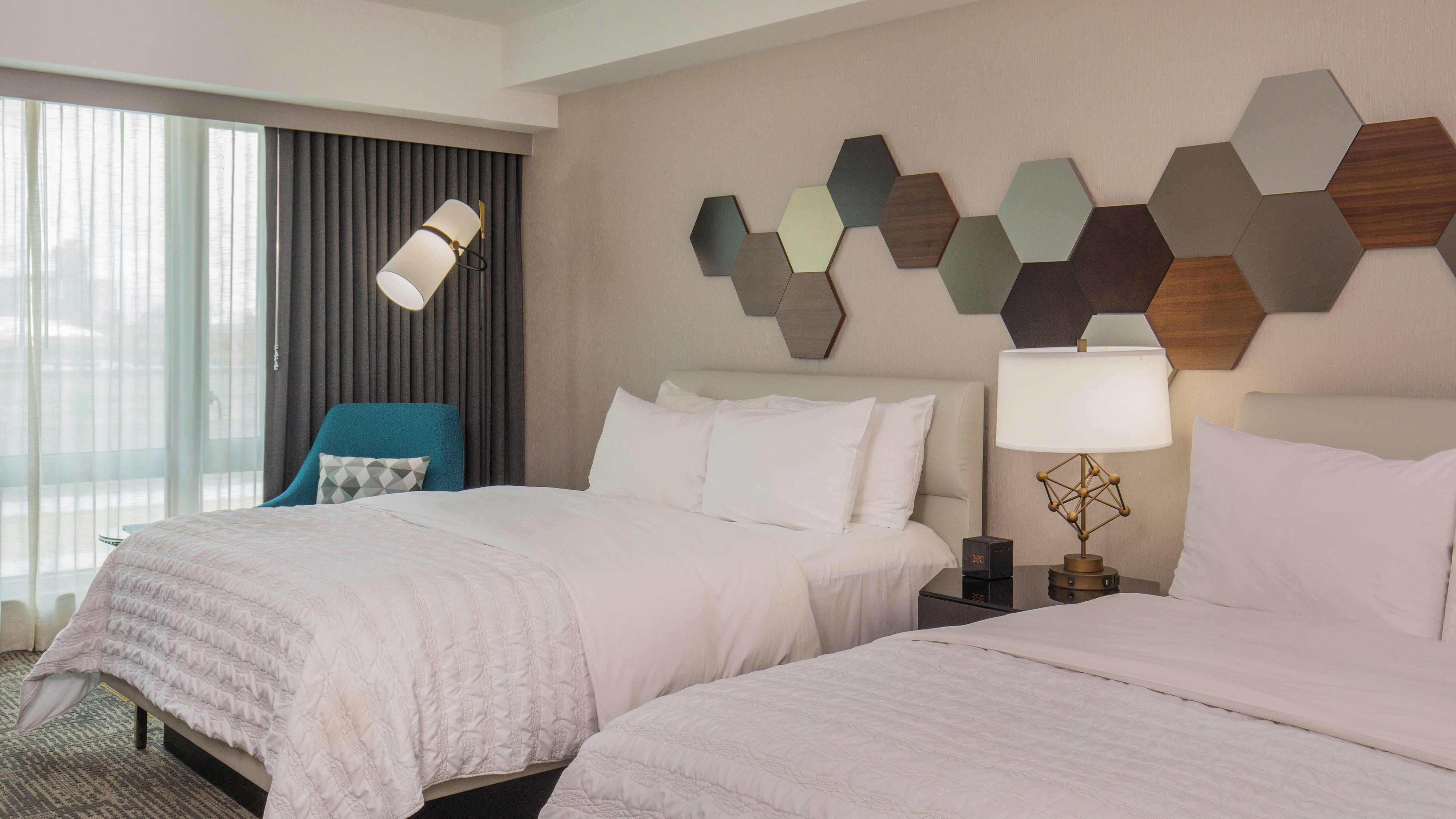 Double/Double Guest Room