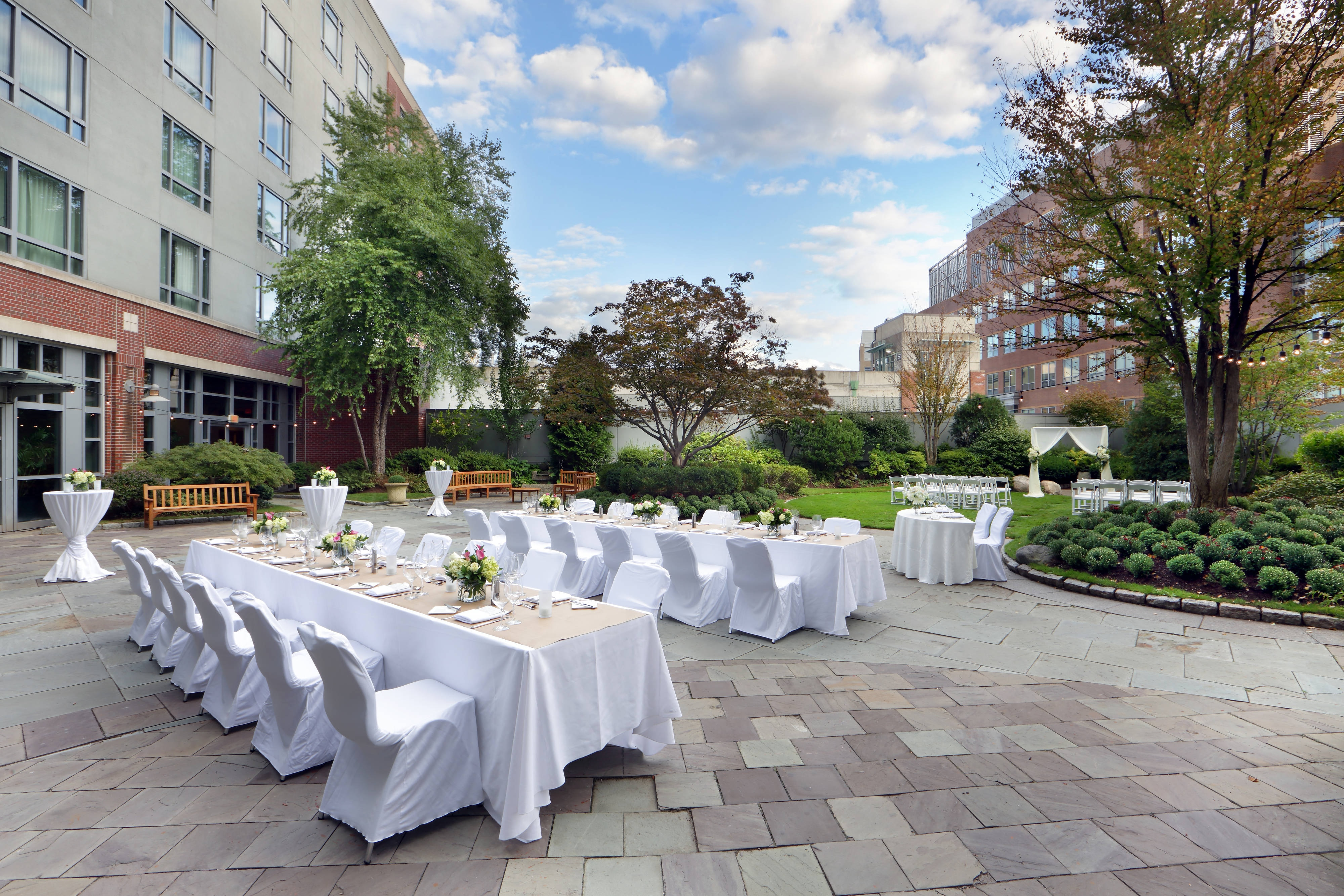 Roof Garden Dinner/Reception