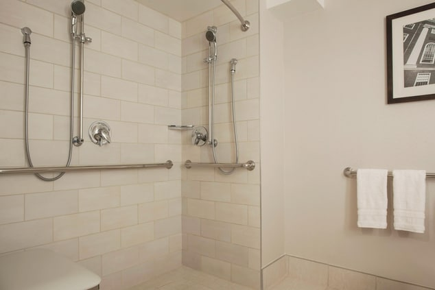 South Tower Accessible Bathroom