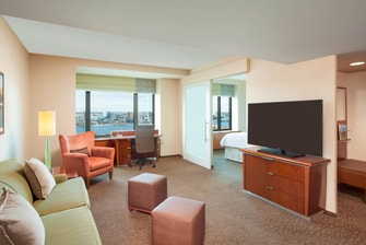 Club Executive Suite with Charles River View