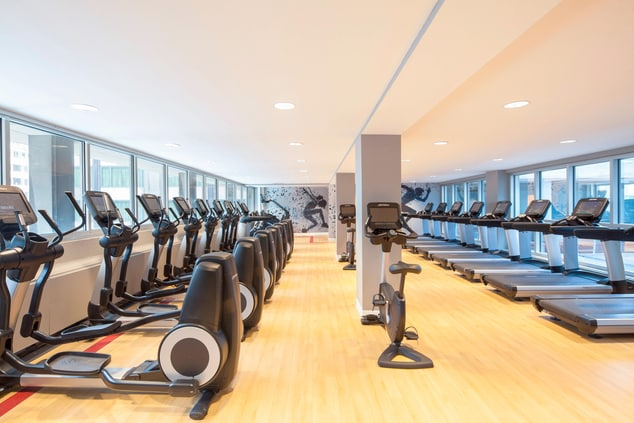Sheraton Fitness Center Cardio Room