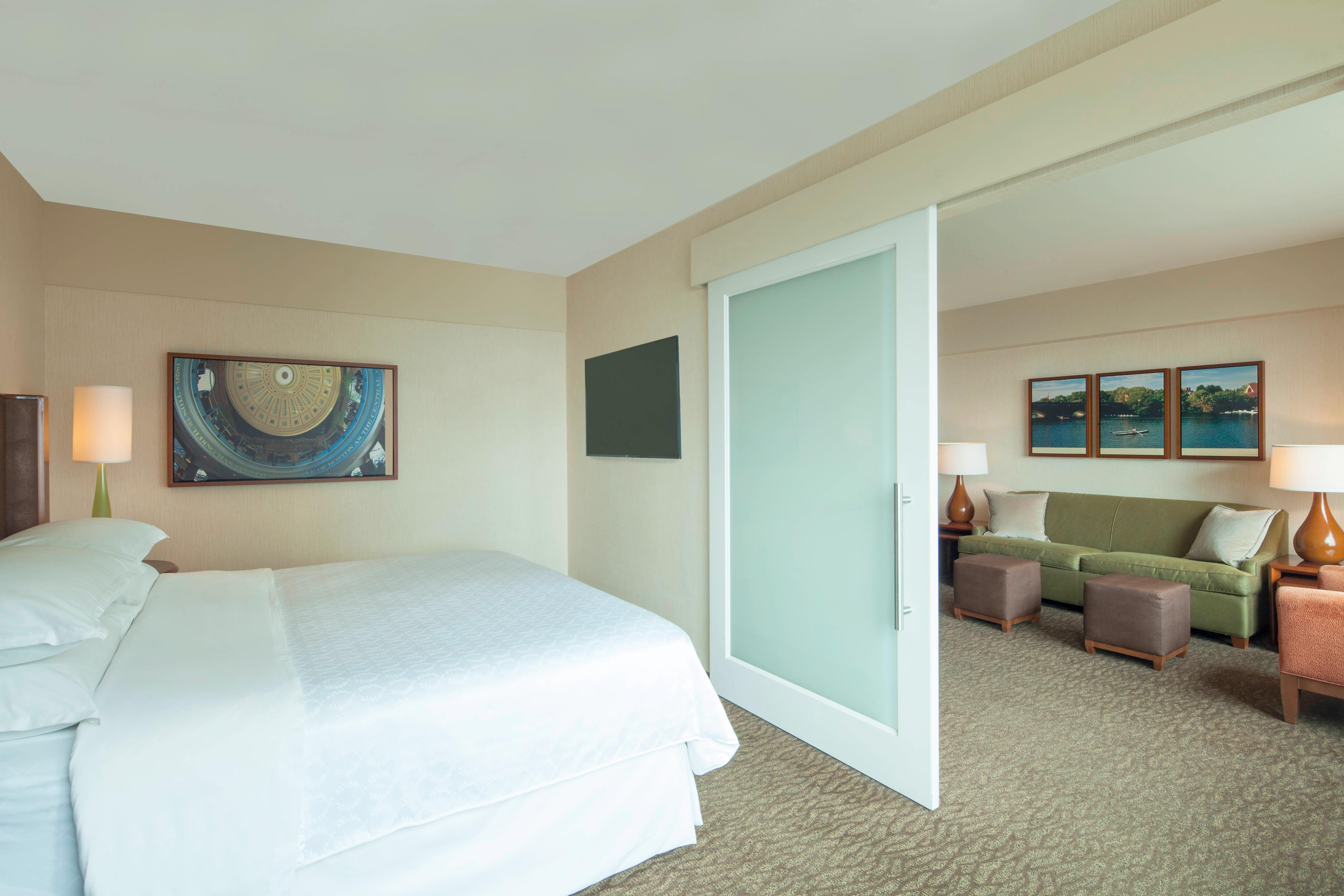Junior Suite with King Guest Room