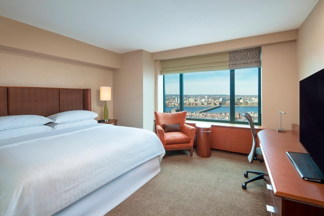 Accessible King Guest Room - Charles River View
