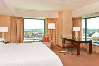 South Tower Deluxe Corner King Guest Room