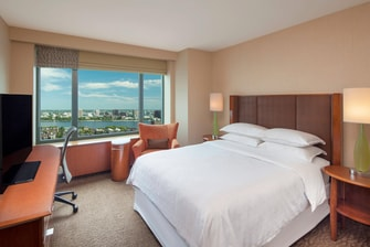 Queen North Tower Guest Room - Charles River View