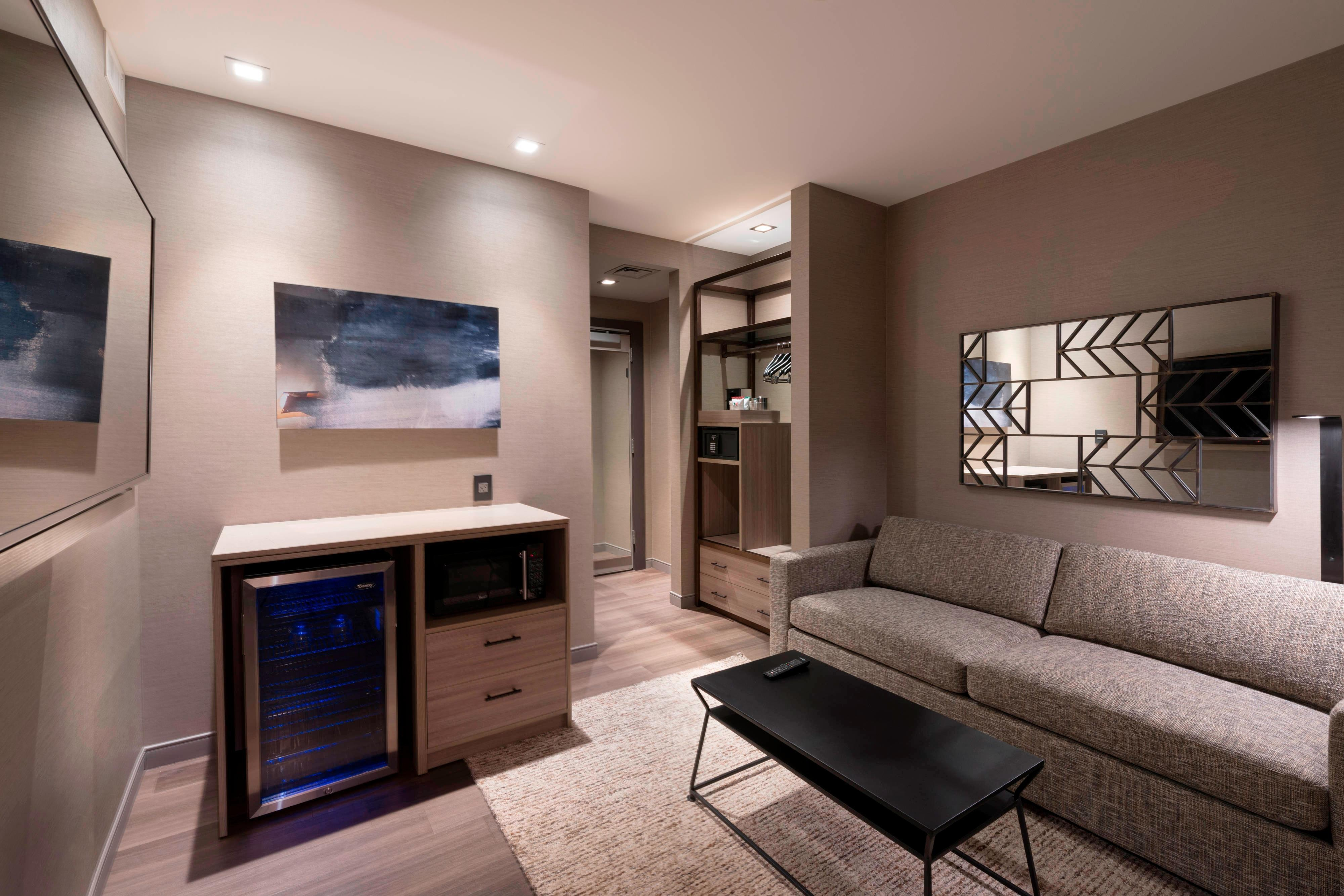 One-Bedroom King Suite - Living Area