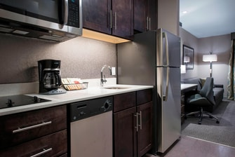 Studio King Suite Kitchen