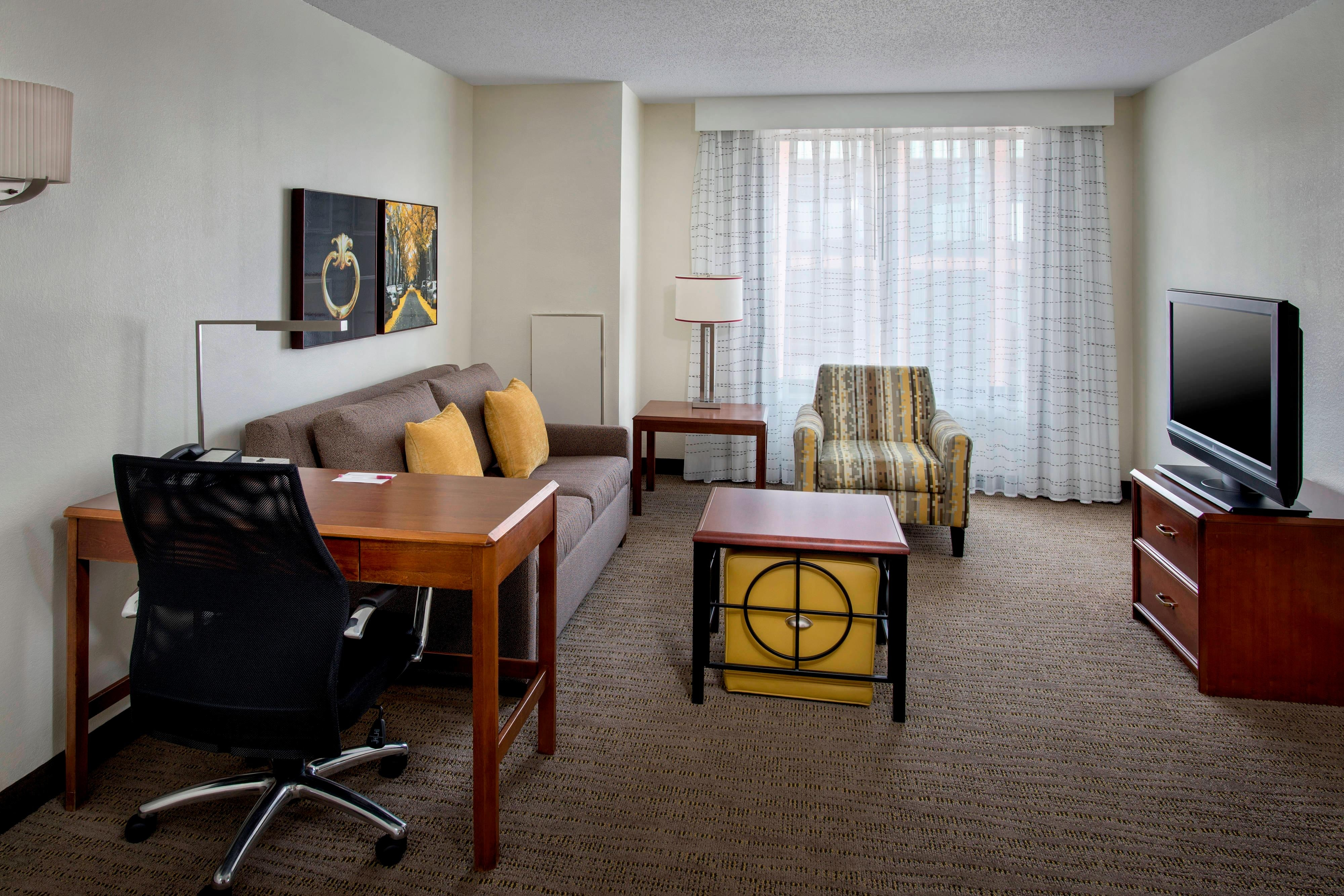 One & Two-Bedroom Suite – Living Area