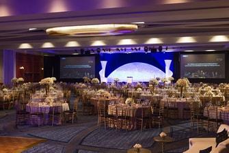 Gala venue in Boston
